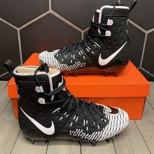 Nike Force Savage Elite Black White Football Cleat